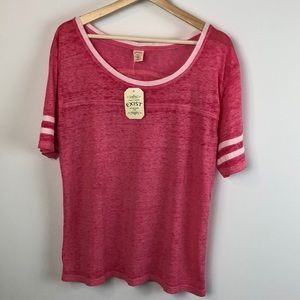 3 for $25 I Exist Top Hot Pink XL Raspberry Shirt